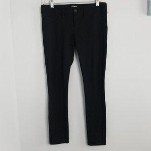 Express Black Ponte Skinny Pants Small